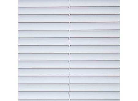 Liedeco Jalousie aus Alu Aluminium-Jalousie Farbe:weiß Länge:160 cm Breite:220 cm
