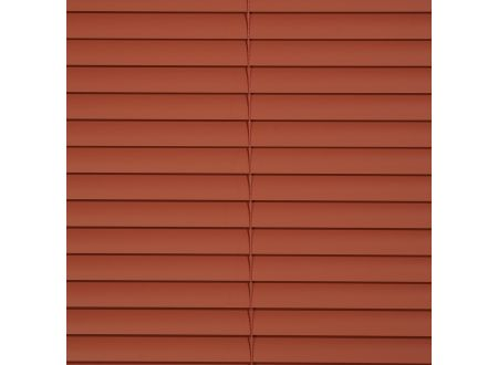 Liedeco Jalousie aus Alu Aluminium-Jalousie Farbe:terracotta Länge:160 cm Breite:150 cm