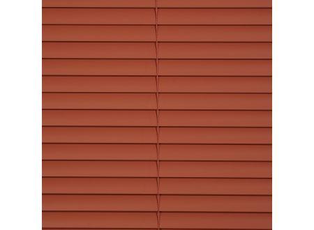 Liedeco Jalousie aus Alu Aluminium-Jalousie Farbe:terracotta Länge:160 cm Breite:220 cm