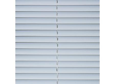 Jalousie aus Kunststoff 160 cm Länge Kunststoff-Jalousie Farbe:weiß Breite:100 cm