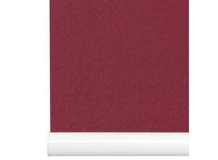 Liedeco Rollo mit Klemmträger Softclose Mittelzugrollo Länge 130 cm Farbe:bordeaux Breite:80 cm