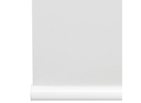 Liedeco Rollo mit Klemmträger Softclose Mittelzugrollo Länge 130 cm Farbe:weiß Breite:100 cm