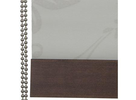 Liedeco Rollo Natur mit Seitenzug Seitenzugrollo Länge 180 cm Farbe:Dekor beige Breite:60 cm