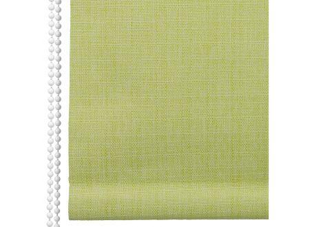 Liedeco Rollo Struktur Verdunkelung Seitenzugrollo Länge 175 cm Farbe:lindgrün Breite:122 cm