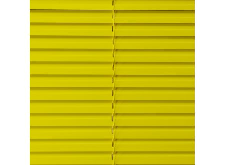 Liedeco Jalousie aus Aluminium Sonnen-Gelb Jalousie für Fenster und Tür Länge:160 cm Breite:220 cm