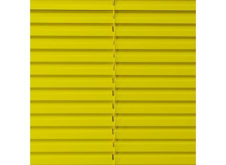 Liedeco Jalousie aus Aluminium Sonnen-Gelb Jalousie für Fenster und Tür Länge:160 cm Breite:240 cm