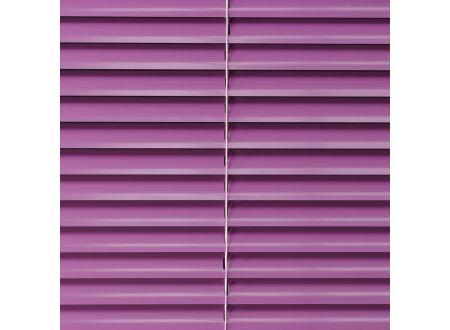 Liedeco Jalousie aus Aluminium Flieder Jalousie für Fenster und Tür Länge:160 cm Breite:240 cm