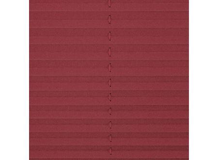 liedeco plissee klemmfix mit klemmtr ger faltenstore bordeaux 130 cm 90 cm kaufen. Black Bedroom Furniture Sets. Home Design Ideas