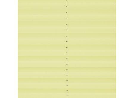 Liedeco Plissee Klemmfix mit Klemmträger Faltenstore Farbe:citrus Länge:130 cm Breite:60 cm