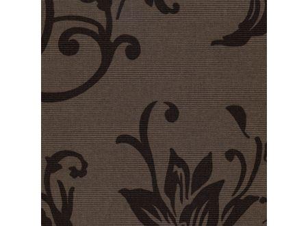 Liedeco Rollo mit Seitenzug Rokoko Länge 180 cm Farbe:braun Breite:122 cm
