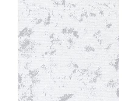 Liedeco Rollo mit Kette lichtdurchlässig Dekor Seitenzugrollo Länge 180 Farbe:Wolken weiß Breite:102 cm