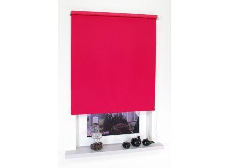 Liedeco Rollo mit Kette Verdunkelung uni Seitenzugrollo für Fenster und Farbe:rot Länge:180 cm Breite:82 cm
