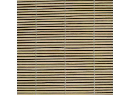 Liedeco Rollo Bambus mit Seitenzug Bambusrollo für Fenster und Tür Farbe:natur Länge:160 cm Breite:100 cm