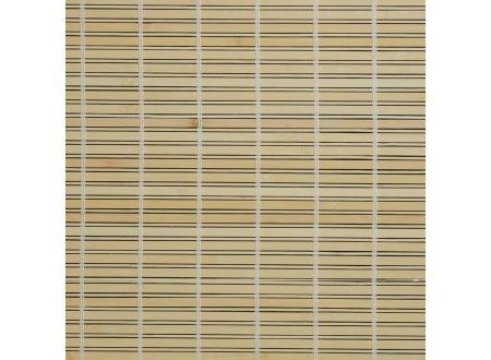 Liedeco Rollo Holz mit Seitenzug Holzrollo für Fenster und Tür Farbe:natur Länge:170 cm Breite:120 cm