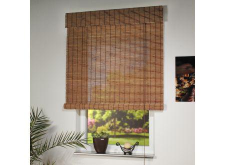 Liedeco Rollo Holz mit Seitenzug Holzrollo für Fenster und Tür bei handwerker-versand.de günstig kaufen