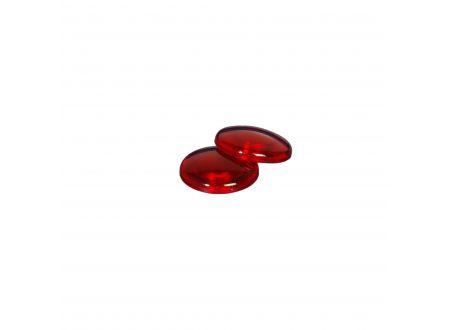 Dekomagnet rund Ø 28 mm Farbe:kirsch transparent