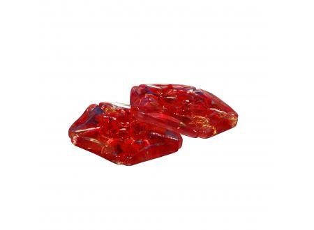 Dekomagnet Murano Farbe:rot