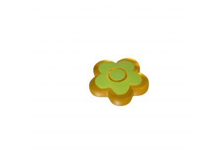 Dekomagnet Blume Farbe:gelb grün