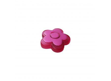 Dekomagnet Blume Farbe:rot rosa