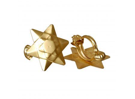 liedeco donauklammern motiv orbit f r gardinenstangen gold. Black Bedroom Furniture Sets. Home Design Ideas