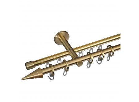 Liedeco Gardinenstange Kegel mit Rille 16 mm Stilgarnitur Innenlauf bei handwerker-versand.de günstig kaufen