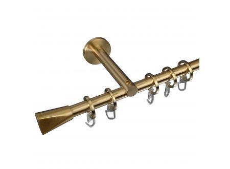 Liedeco Gardinenstange Dust 16 mm Stilgarnitur Innenlauf bei handwerker-versand.de günstig kaufen