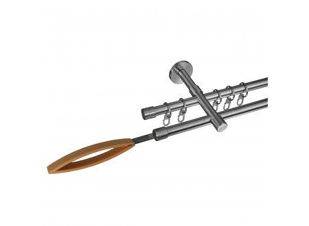 Liedeco Gardinenstange Skagen 16 mm Stilgarnitur aus Edelstahl bei handwerker-versand.de günstig kaufen