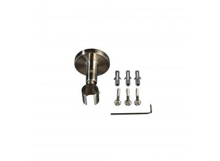 Liedeco Deckenträger für Gardinenstangen 5,5 cm Innenlauf, ø 16 mm bei handwerker-versand.de günstig kaufen