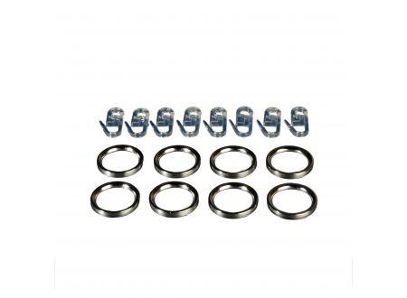 Liedeco Flachring 32/27 mm mit Faltenlegehaken Innenlauf, ø 16 mm bei handwerker-versand.de günstig kaufen