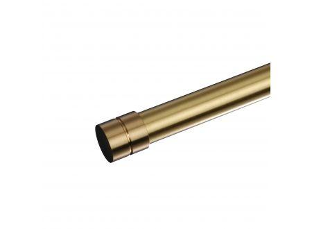 Liedeco Endkappe für Gardinenstangen Inox/Messing ø 20 mm bei handwerker-versand.de günstig kaufen