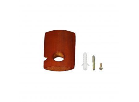 Liedeco Träger für Gardinenstangen einläufig 6,5 cm France ø 20 mm bei handwerker-versand.de günstig kaufen