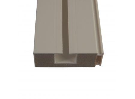 Vorhangschiene mit Holzkern Gardinenschiene Größe:1 läufig Länge:150 cm