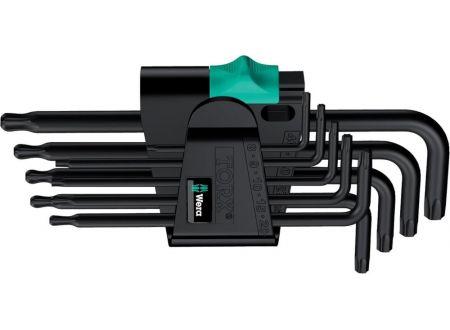 TORX®-Winkelschraubendreher-Satz WERA mit Kugelkopf Ausführung:9-teilig