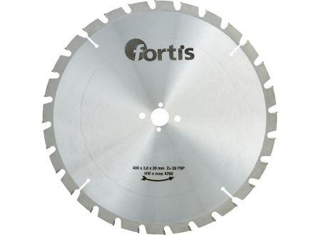 HW-Kreissägeblatt Längsschnitt-Flachzahn Fortis Außendurchmesser:400mm