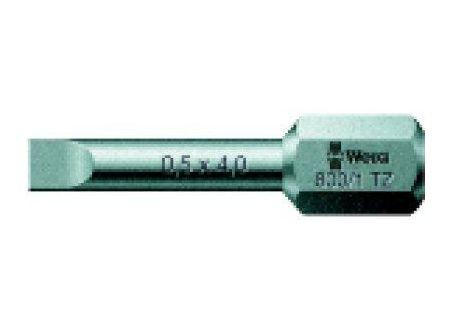 Wera Bit für Schlitzschrauben 1/4 Nr. 800/1 TZ bei handwerker-versand.de günstig kaufen