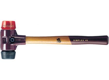 Schonhammer Halder SIMPLEX Gummi/Plastik Durchmesser:60mm
