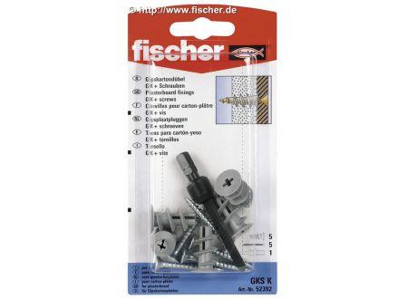 fischer Gipskartondübel GK SK Fischer mit Schraube bei handwerker-versand.de günstig kaufen