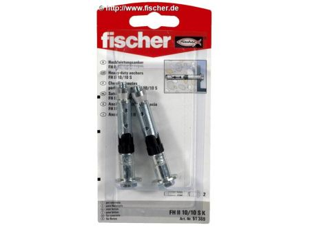 fischer Hochleistungsanker FH-S - Stahl, galvanisch verzinkt Fischer bei handwerker-versand.de günstig kaufen