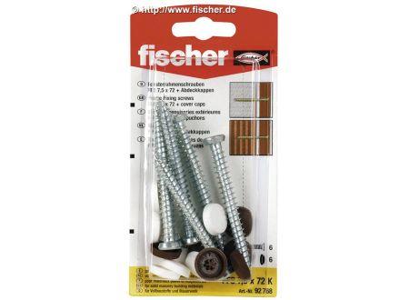 Fischer Fensterrahmenschraube FFS Fischer Ausführung:FFS 7,5X152 K