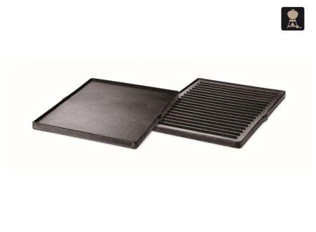 Weber Gusseiserne Wendeplatte für Spirit, Genesis,Summit, One-Touch bei handwerker-versand.de günstig kaufen