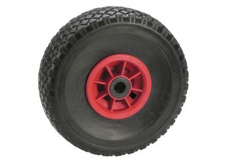 Pannensicheres Rad - Felge rot Profil:Block