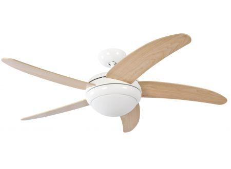 Deckenventilator Makkura Farbe Gehäuse:weiß Farbe Flügel:Ahorn Steuerung:ohne