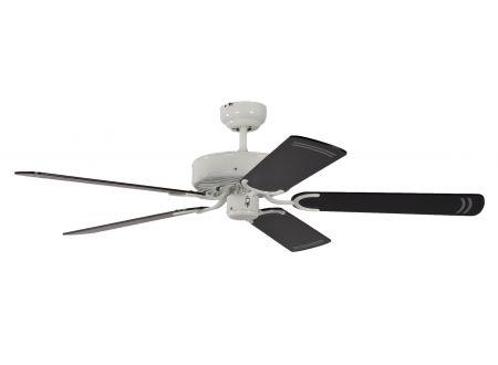 Ventilator Potkuri Farbe Gehäuse:weiß Farbe Flügel:Schwarz-gestreift