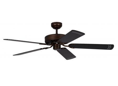 Ventilator Potkuri Farbe Gehäuse:gealterte Bronze Farbe Flügel:Schwarz-gestreift