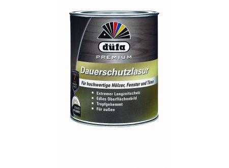 Schlau Düfa Dauerschutzlasur Farbe:teak Inhalt:2,5l