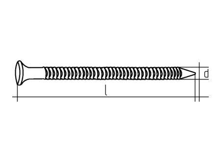 Simpson Ankernägel mit Flachkopf bei handwerker-versand.de günstig kaufen
