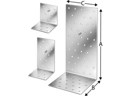 Winkelverbinder ANP Simpson Maße:100x100x100mm