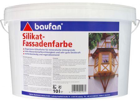 Baufan Bauchemie Baufan Silikatfassadenfarbe Inhalt:10l