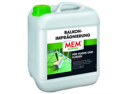 MEM Balkon-Imprägnierung Inhalt:5l