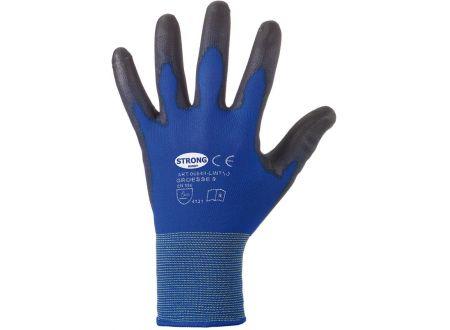 Stronghand Feinstrickhandschuh Lintao Polyurethan blau bei handwerker-versand.de günstig kaufen
